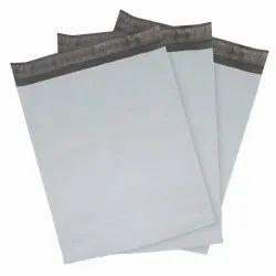 Plain LDPE Tamper Proof Courier Bag, Capacity: 1 Kg