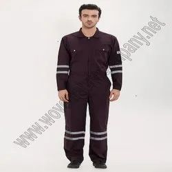 Blue Plain Drill Weave Coverall