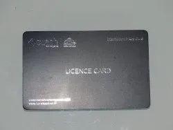 Matt Plastic Card