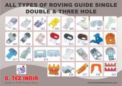 Roving Guide With Single, Double And Triple Hole