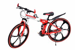 Red Bmw X6 Foldable Cycle