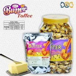 KC Brown BUTTER TOFFEE, Packaging Type: Plastic Jar, Packaging Size: 200 Pcs Jar 100 Pcs Pkt