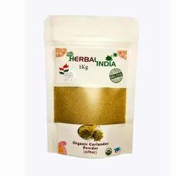 Herbal India Coriander Powder, For Cooking, Packaging Size: 1 kg