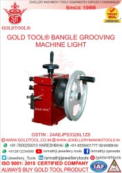 Gold Tool Bangle Grooving Machine Light Jewellery Tools