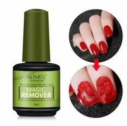 Aliver Red Professional Nail Polish Remover, Glass Bottle