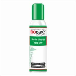 Docare Lidocaine & Isopropyl Topical Spray