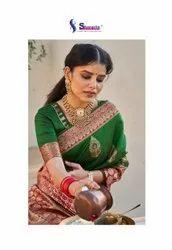 Shangrila Creation Shefali Soft Weaving Silk Saree Catalog