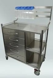 METAL DRAWER & SHELVES