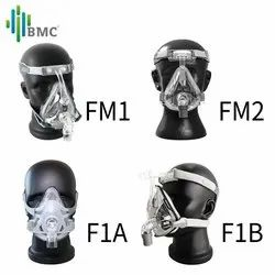 Transparent Silicone Full Face CPAP Mask, For Hospital