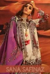Kaara Sana Safinaz Pure Cotton With Embroider Work Pakistani Style Suits Catalog