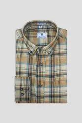 Boros Cotton Wood Brown Checks