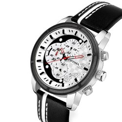 Latest Black optima Chronograph Analog Watch - for Men