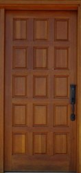 Teak Wood Solid Door, For Home