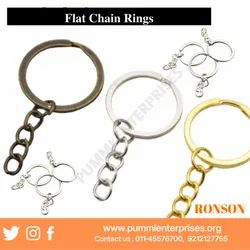 flat key chain ring