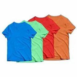 Cotton Plain T-Shirt