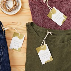 Paper Hang Tag Printing Services, For Clothing Industry, in Mumbai