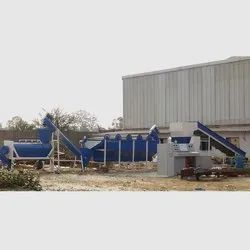 Road Waste LD Plastic Waste Washing Plant