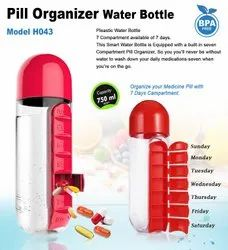 Medicine - Pills Holder Water Bottle H043