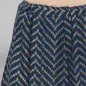 Janasya Women's Light Green Cotton Slub Crop Top With Skirt(J0041)