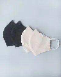 Organic Cotton Khadi Cloth Masks