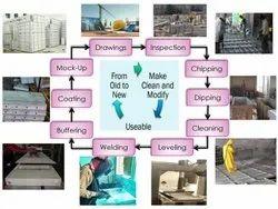Refurbishment Service For Aluminium Formwork