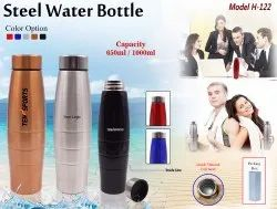 Steel Water Bottle H-122