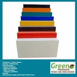 White Plain PVC Celuka Sheet, Thickness: 5 to 35 mm