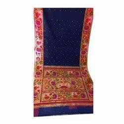 Designer Hand Work Silk Saree