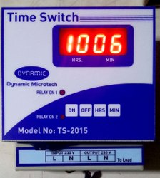 Time Switch Weekly Multiple Setting