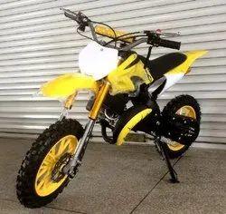 Yellow 50cc Super Kids Dirt Bike