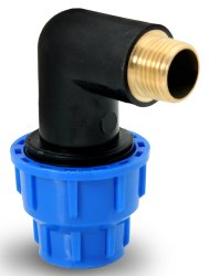 MDPE Pipe Male Threaded Elbow