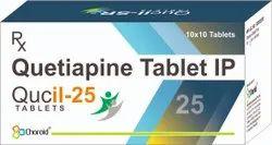 Quetiapine 25 Mg Tablets ( Qucil 25)