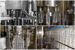 Pet Water Bottle Filling plant