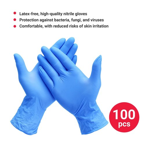 Full Fingered Nitrile Examination Gloves
