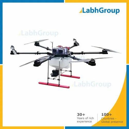 Farming Drone For Granular & Seed Spraying