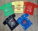 Hosiery Casual Wear Printed Fancy Kids T Shirts, Size: 3-12 Years