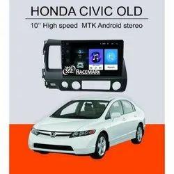 Black Honda Civic OLD Car Android Music System