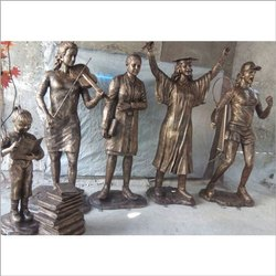 FRP Fibre Glass  Statue