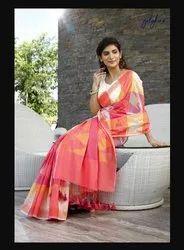 Multicoloured Monika Cotton Weave Saree