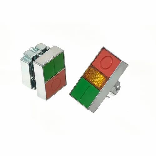 16 MM PUSHBUTTON 24VDC  RED LED  SQUARE ACTUATOR