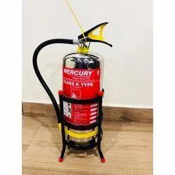 Mild Steel Mercury Class K Type Fire Extinguisher, Capacity: 2Kg
