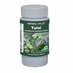 Herbal Hills Tulsi Tablets/Basil Tablets For Immunity & Healing