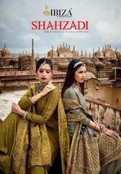 Ibiza Suit Shahzadi Pure Muslin With Fancy Embroidery Salwar Kameez Catalog