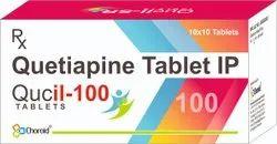 Quetiapine 100 Mg Tablets ( Qucil 100)