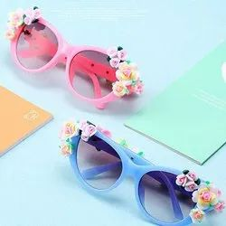 Pink and Blue Casual Wear Kid Fashison Sunglasses Froggy
