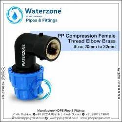 MDPE Pipe Female Threaded Elbow