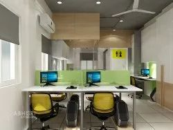 Corporate/Office Interior Designing Office, Work Provided: Wood Work & Furniture