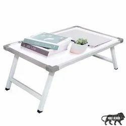 Aluminium and Plywood Rectangular Primelfie Non-slip Legs Reading Table