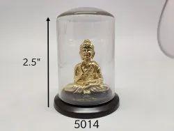 Divine Golden Gautama Buddha Idol