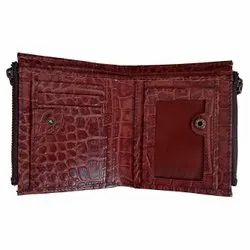 Men Leather Wallet With RFID Protection
